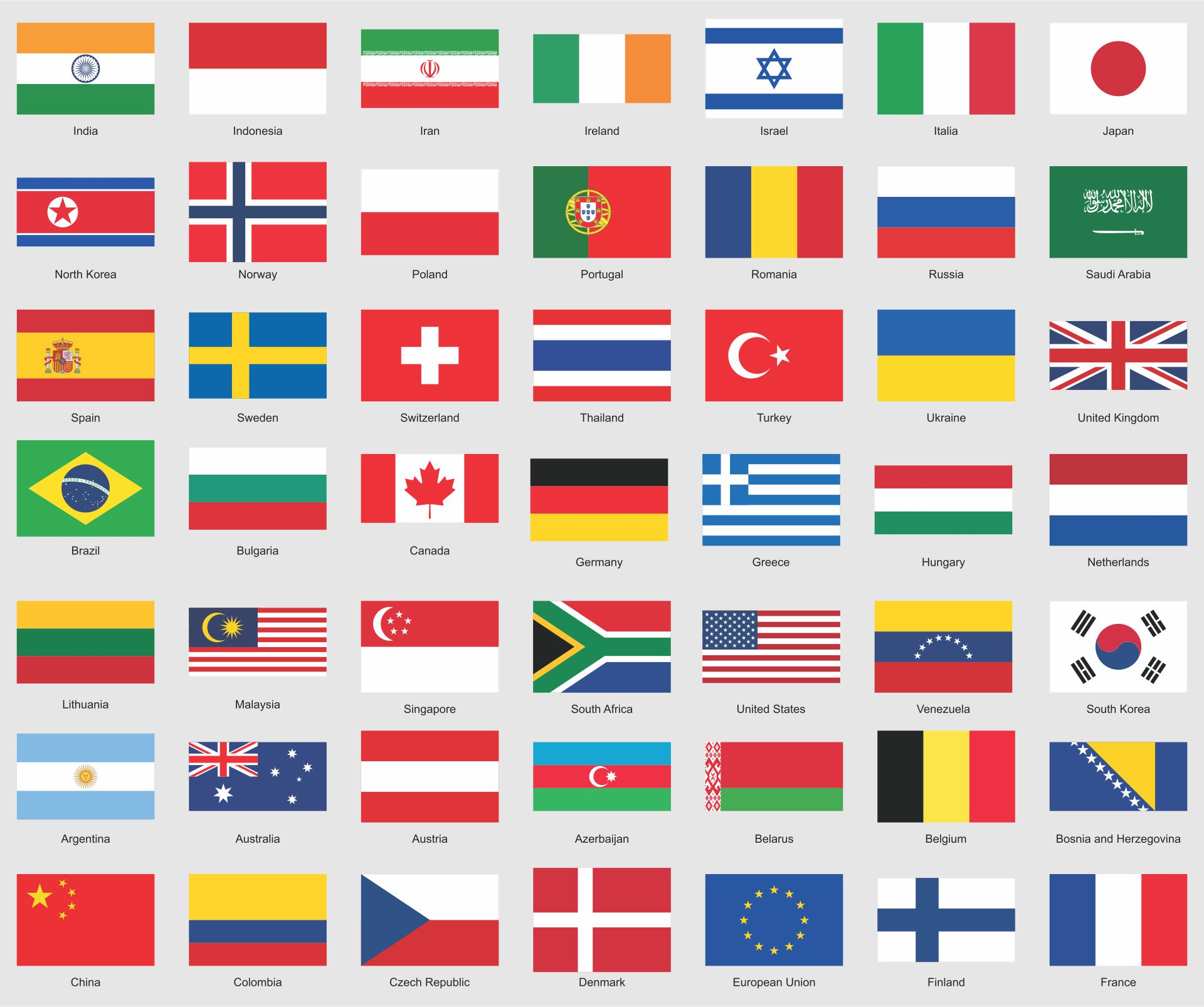 9 Best Images of Printable Flags Of Different Countries ...
