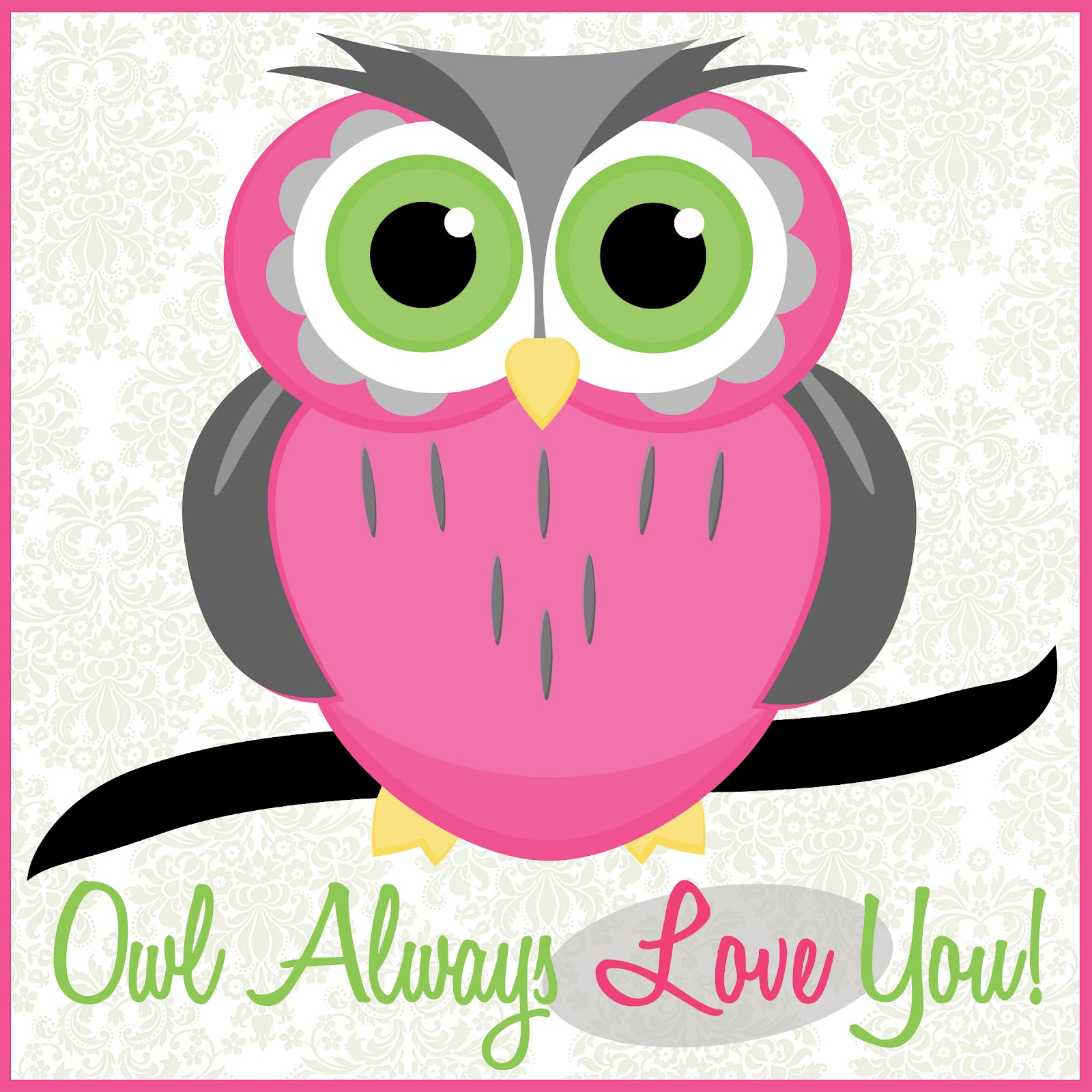 6 Images of Animated Owl Printables
