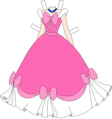 6 Images of Printable Princess Paper Dolls