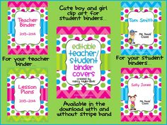 5 Images of Free Printable Binder Covers Spines And Students