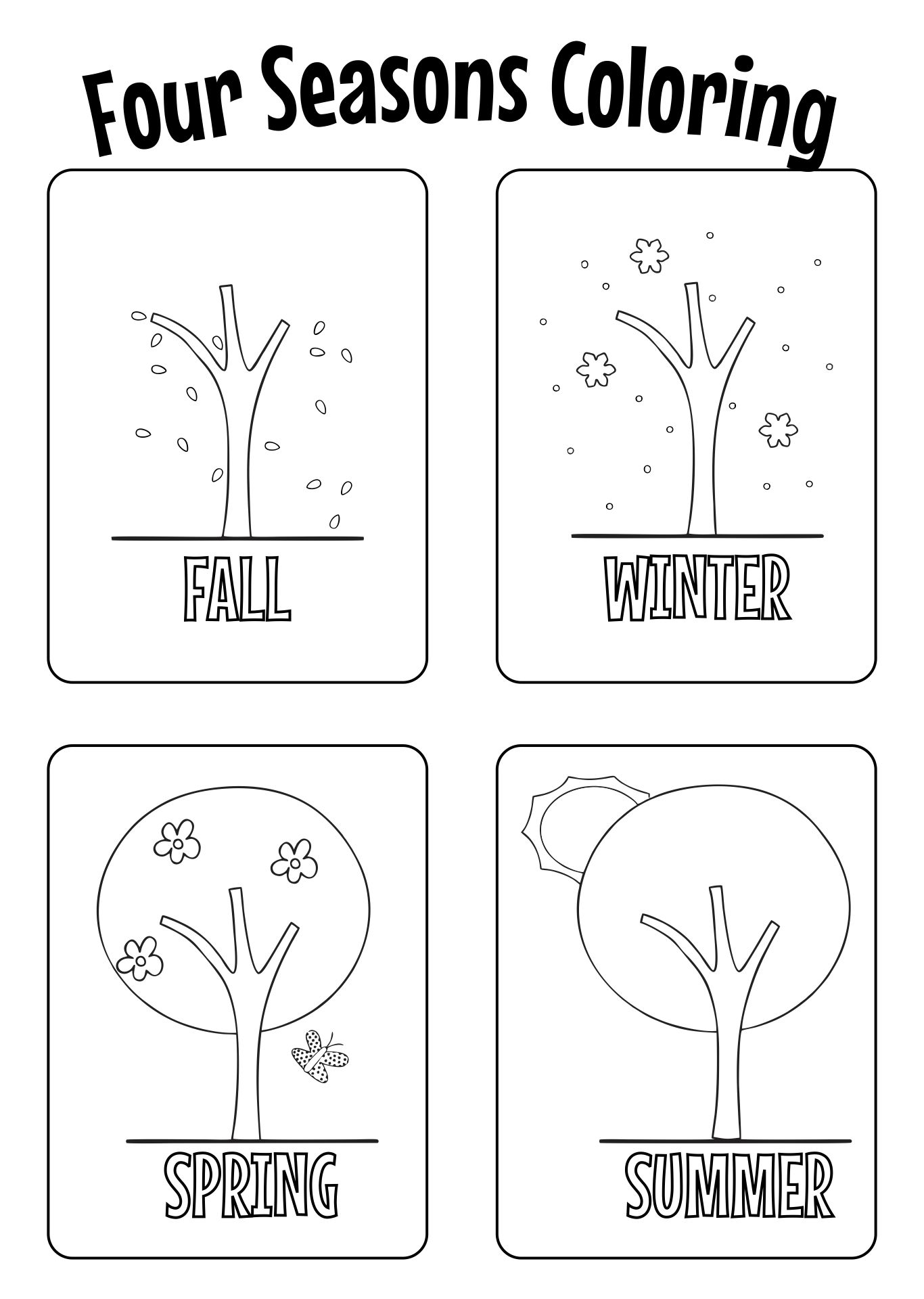 - 6 Best Seasons Preschool Coloring Pages Printables - Printablee.com