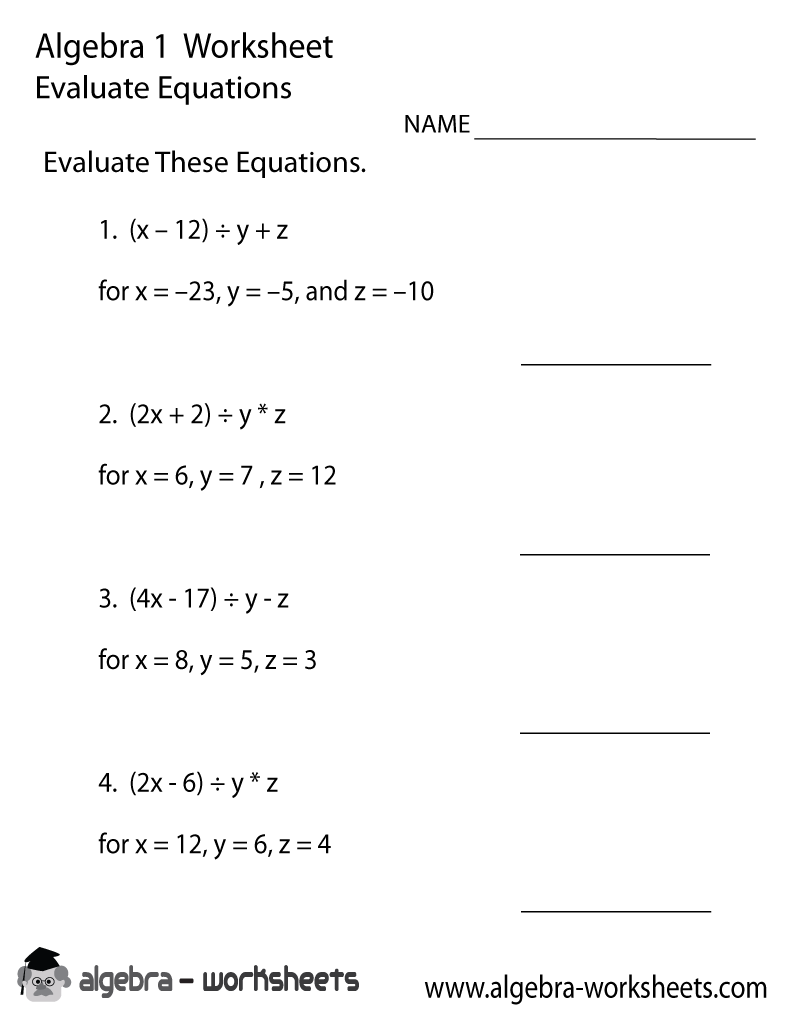 math worksheet : 6 best images of free printable basic math problems  irregular  : Basic Math Problems Worksheets