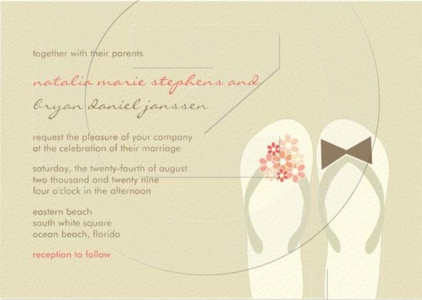 Free Printable Beach Invitations Wedding