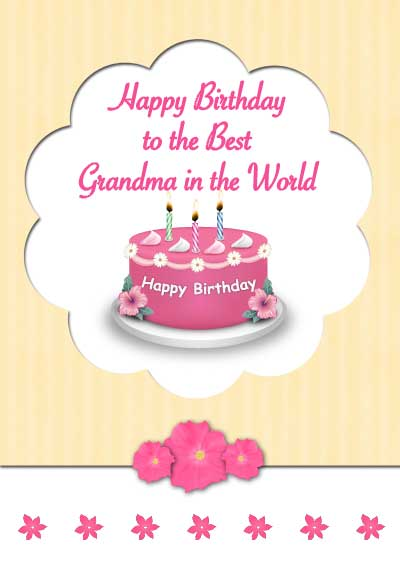 Free Printable Birthday Cards Grandma