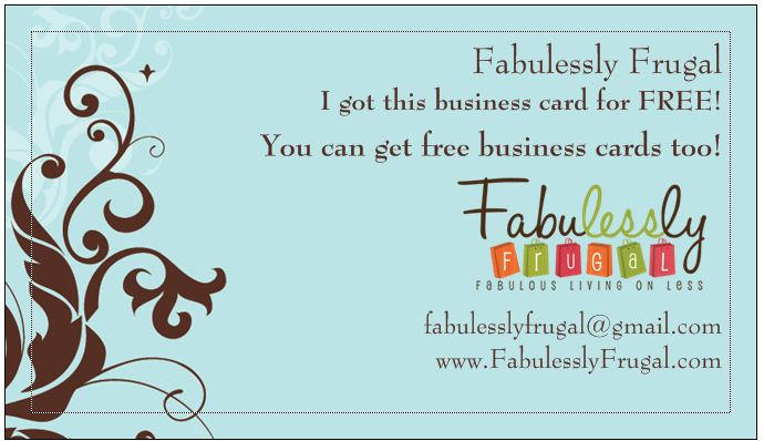 4 Images of Free Printable Business Cards