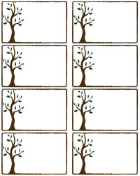 7 Images of Family Reunion Name Badges Free Printable