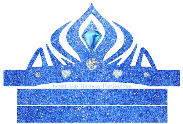 5 Images of Frozen Printable Elsa Crown