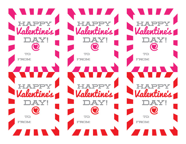 Free Printable Happy Valentine's Day