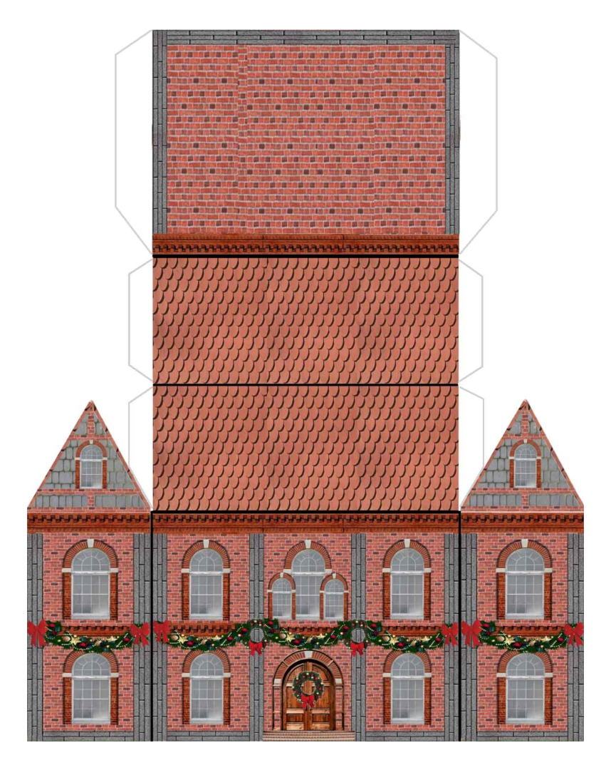 Free Printable Paper Buildings