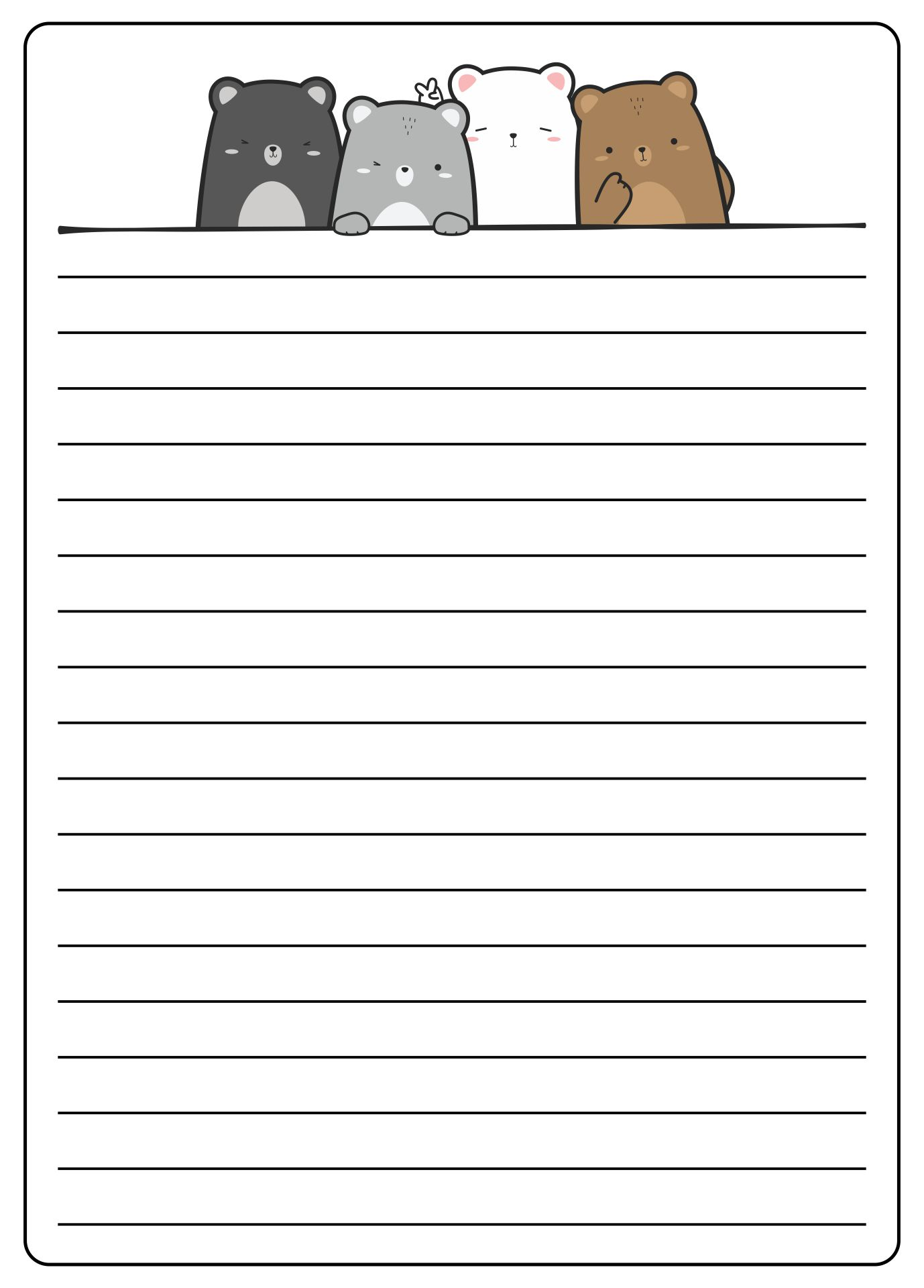 Printable Lined Paper to Print