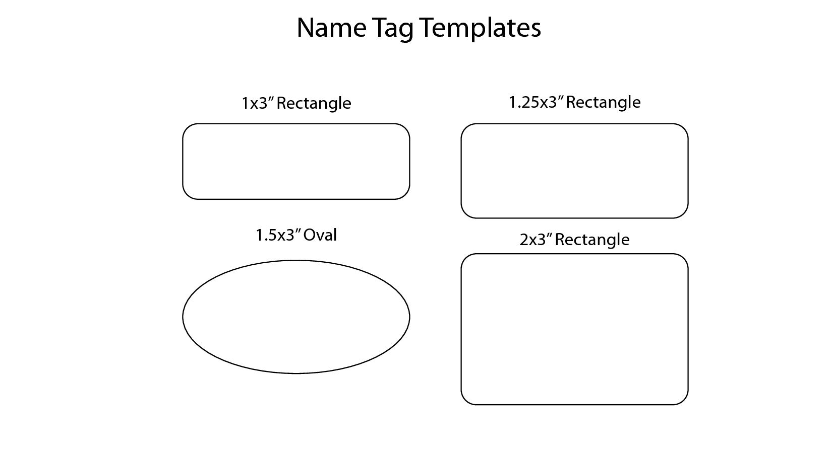7 best images of family reunion name badges free printable for Id badge template free
