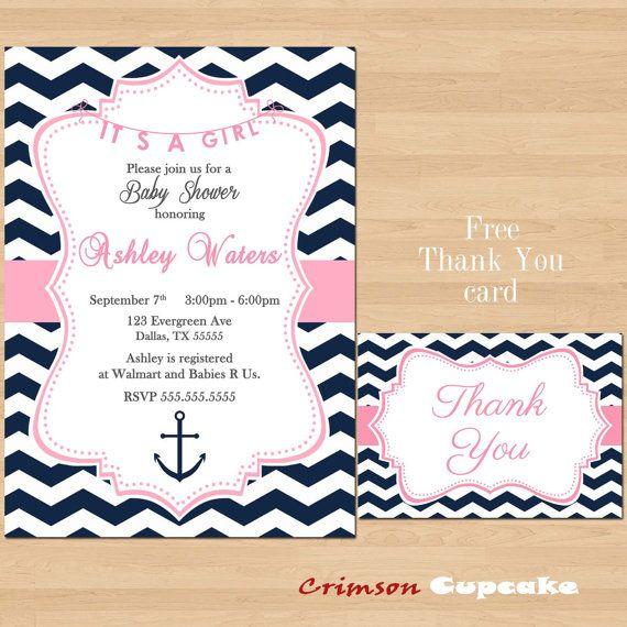 free printable nautical baby shower invitations templates - baby wall, Baby shower invitations