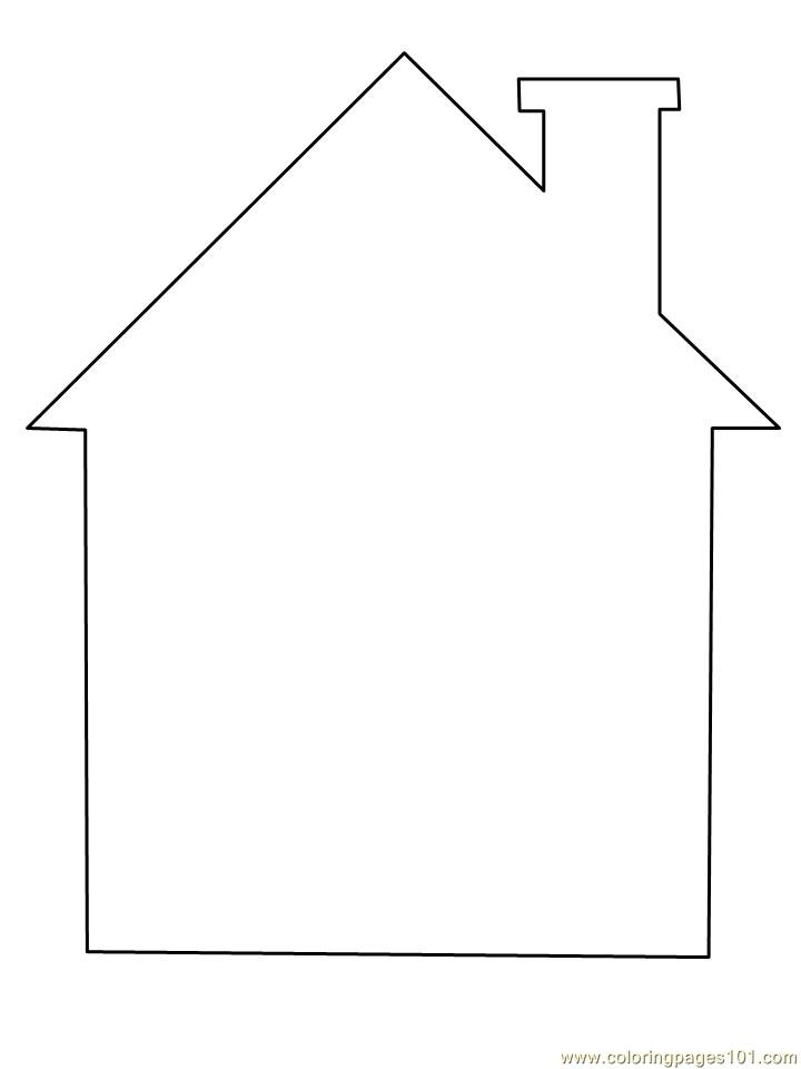 8 Images of Printable Template Simple Creative Houses