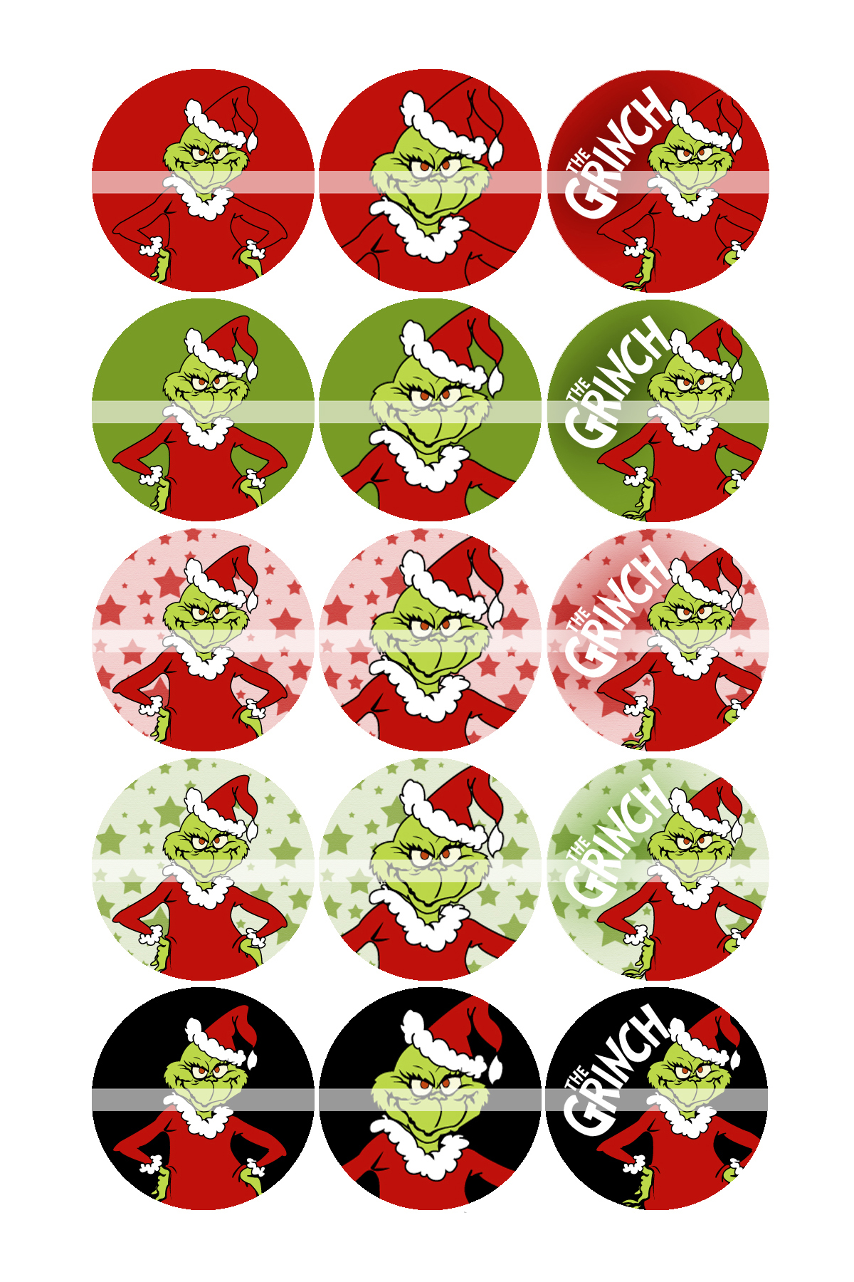 7 Images of Grinch Free 8X10 Christmas Printable