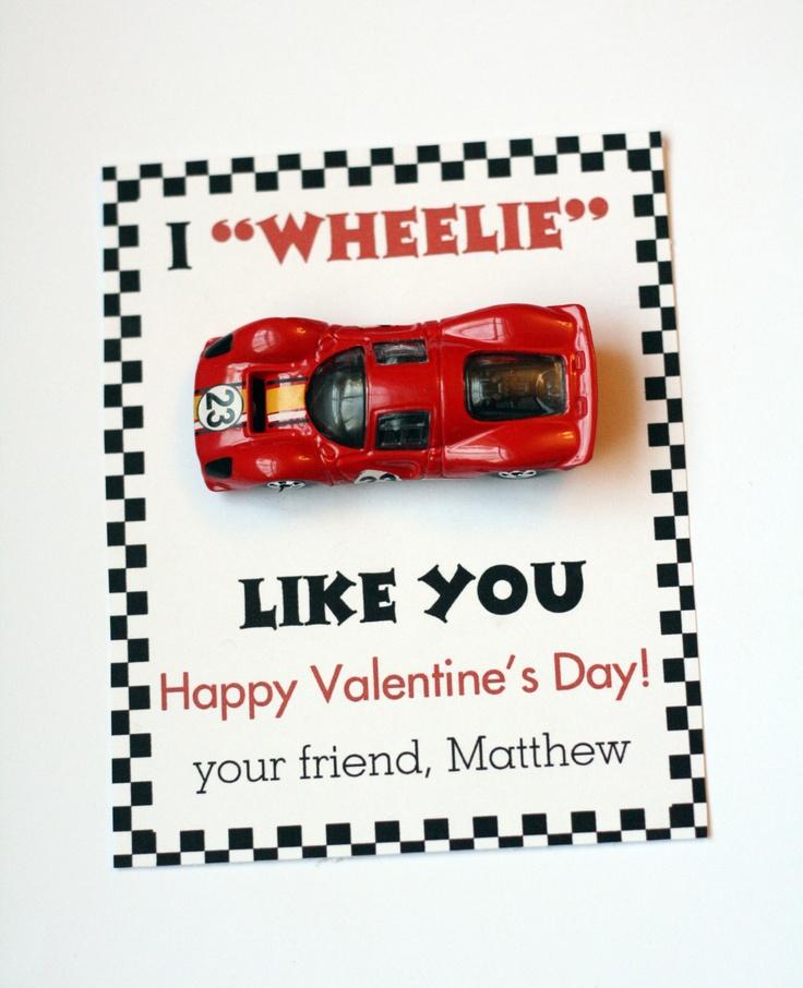 5 Images of I Like You Valentine Printable Wheelie'