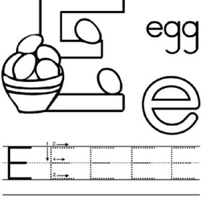 4 Images of Alphabet Printables For Kindergarten
