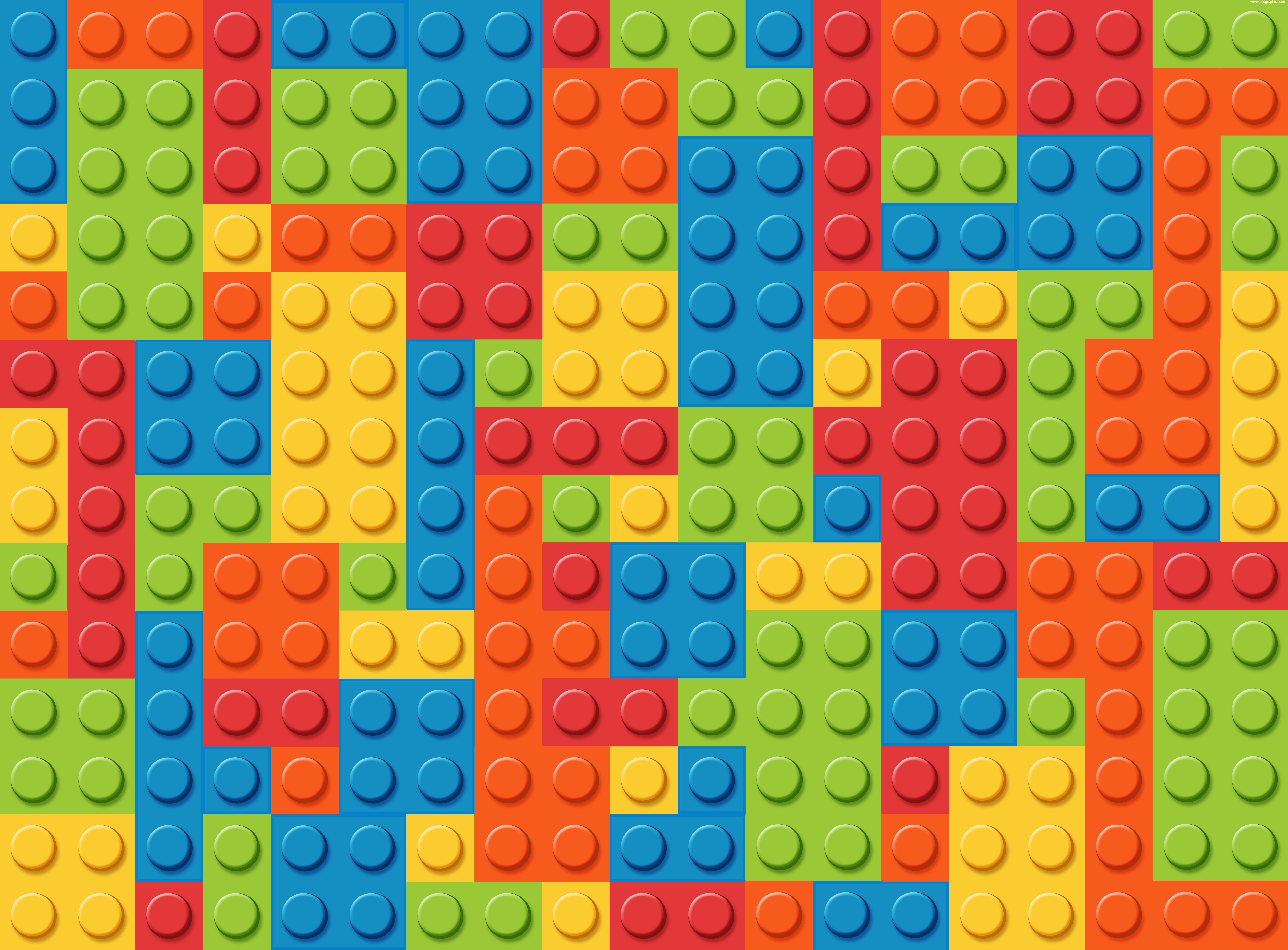 5 Images of Printable LEGO Patterns