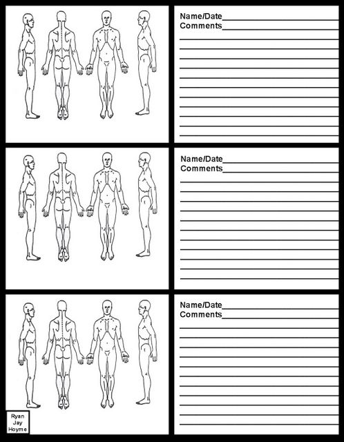 8 best images of printable soap charts chart for massage for Free massage soap notes template
