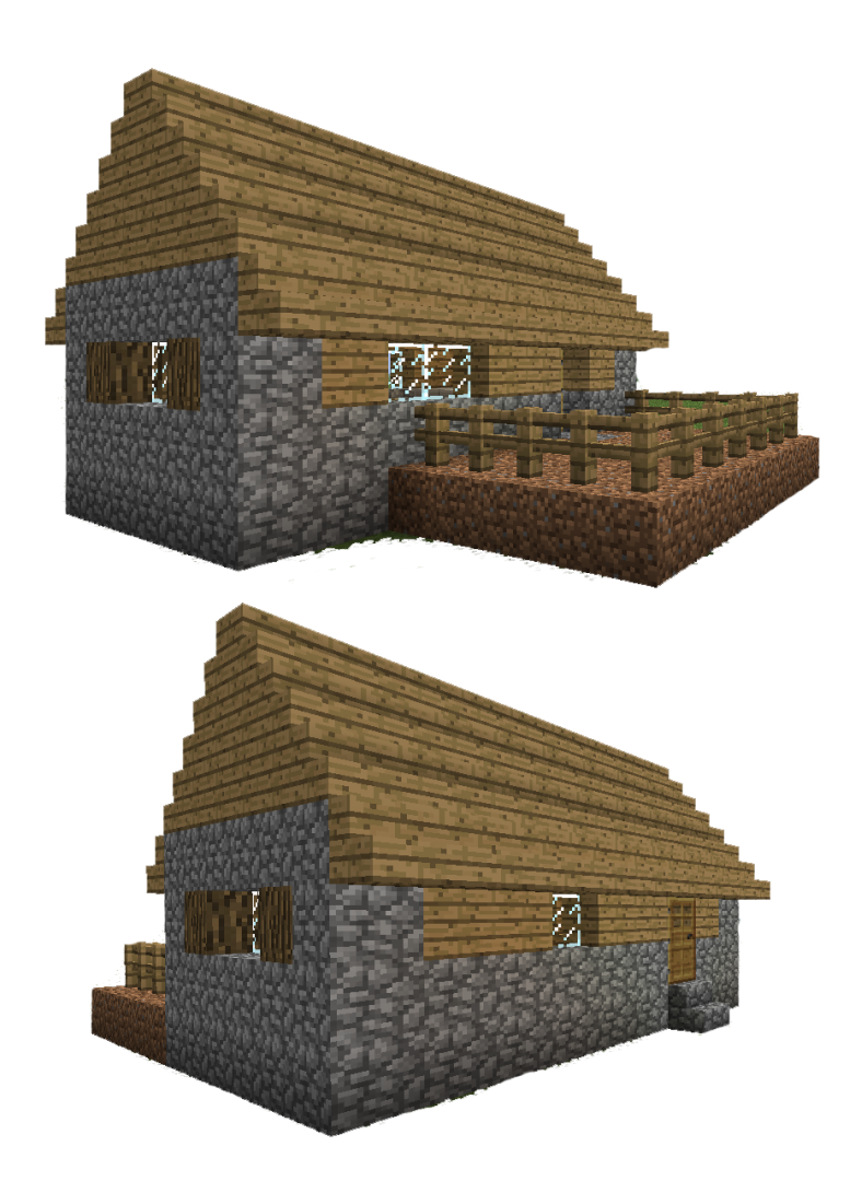 6 Best Images Of Printable Minecraft Villager Houses Minecraft