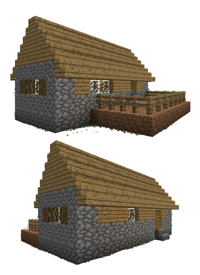 6 Best Images Of Printable Minecraft Villager Houses Minecraft House Blueprints Minecraft Papercraft House And Minecraft Village Butcher Shop Printablee Com