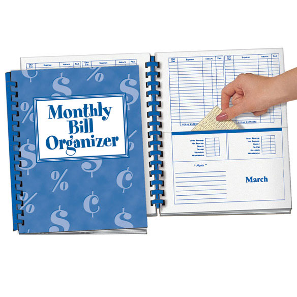 7 Images of Printable Bill Organizer Book