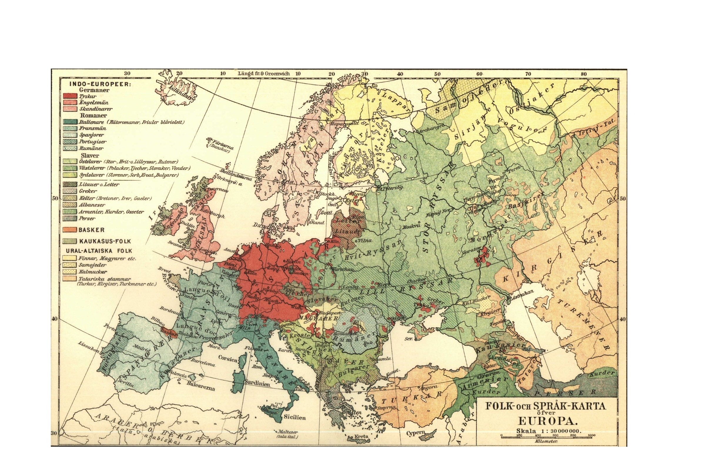 Old Vintage Printable Maps of Europe