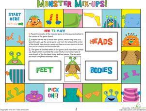 7 Images of Printable Preschool Games
