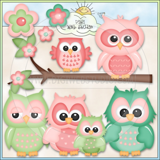 8 Best Images Of Cute Printable Owls Cartoon