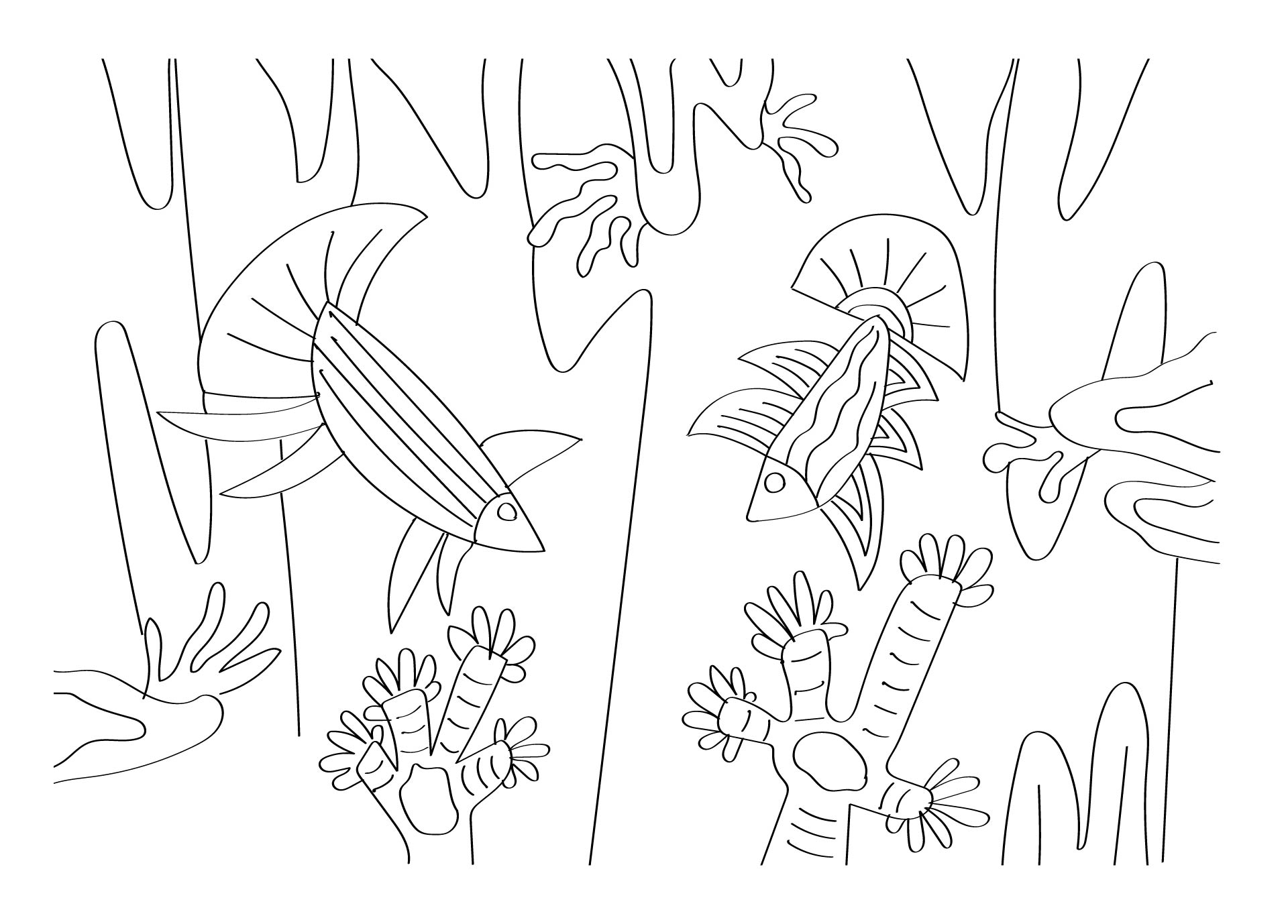 8 Images of Printable Coloring Pages Doodle Art