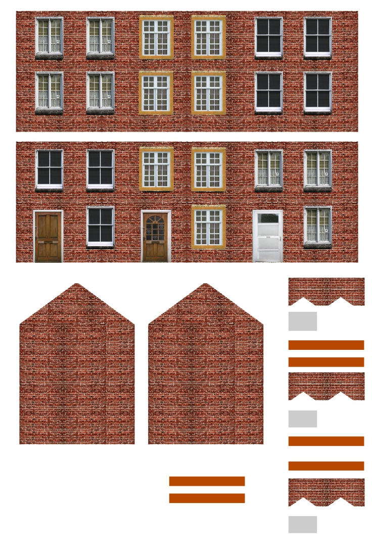 Luscious image within free printable model buildings