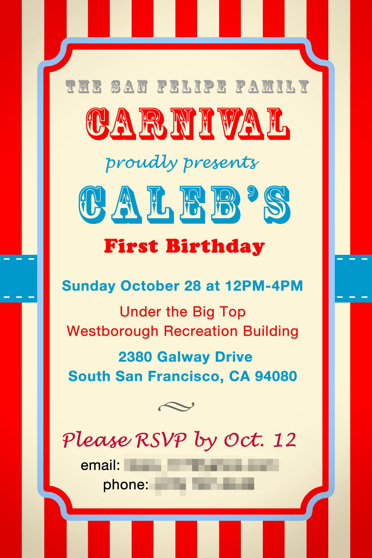 8 Images of Printable Carnival Flyer