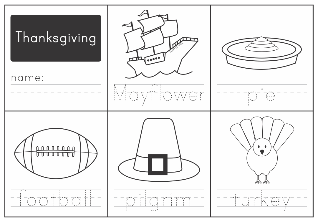 Thanksgiving Worksheets For Kindergarten Davezan – Thanksgiving Worksheets for Kindergarten