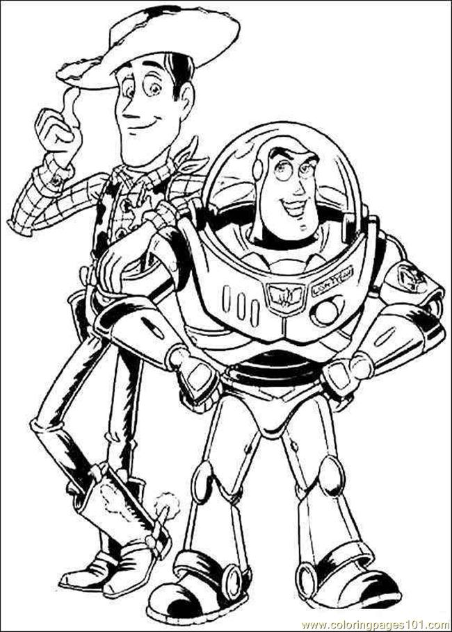 5 Images of Toy Story Coloring Pages Printable