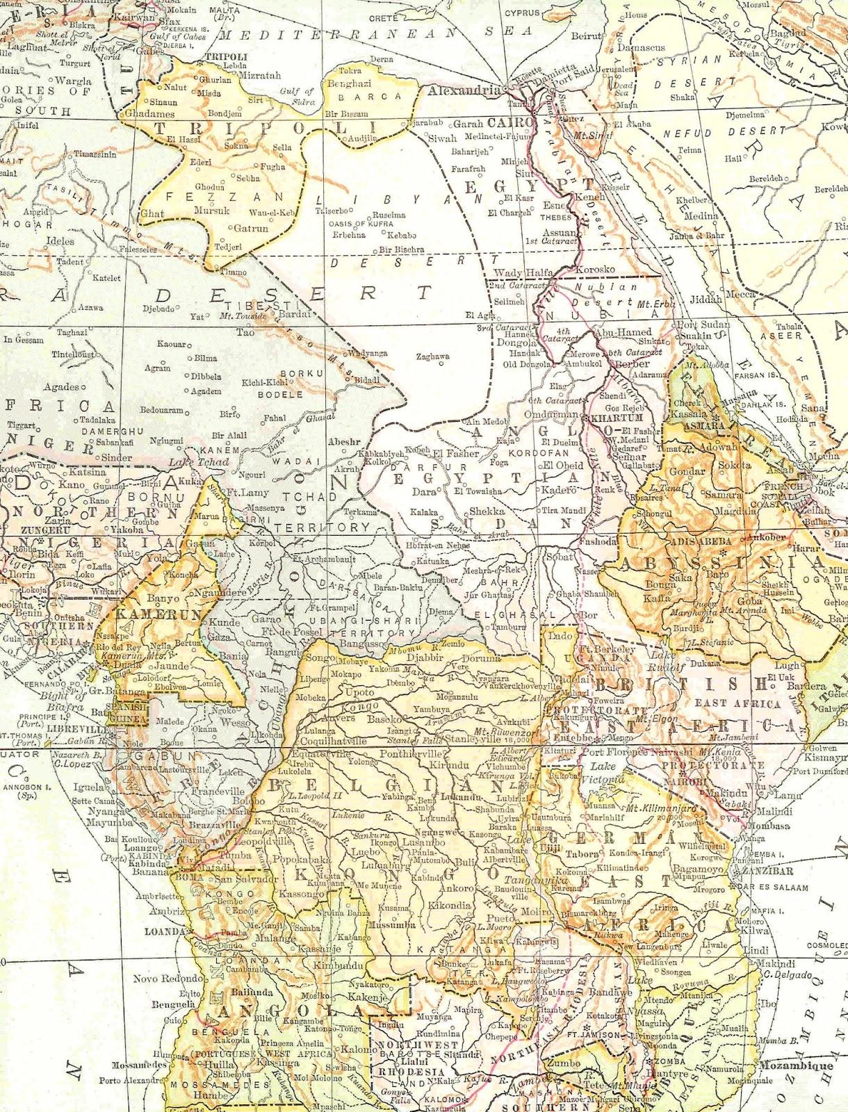 Vintage Map Paper Backgrounds