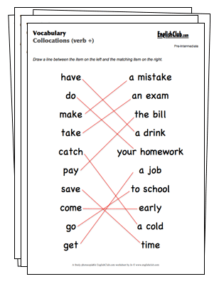 7 Images of Free Printable Vocabulary Worksheets