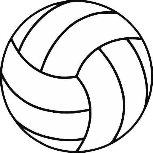 6 Images of Printable Volleyball Graphics