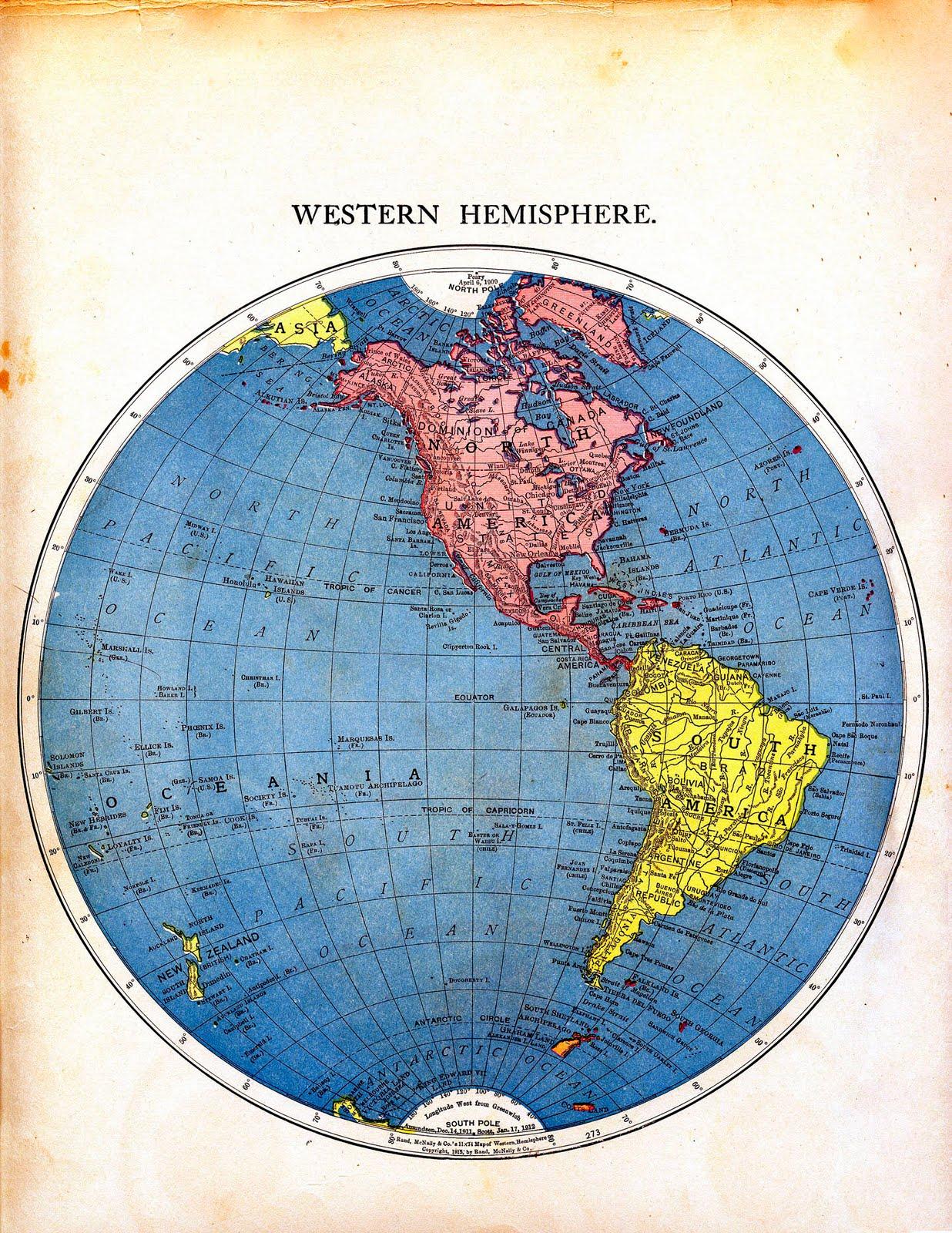 World Map Printable Vintage Graphics Fairy