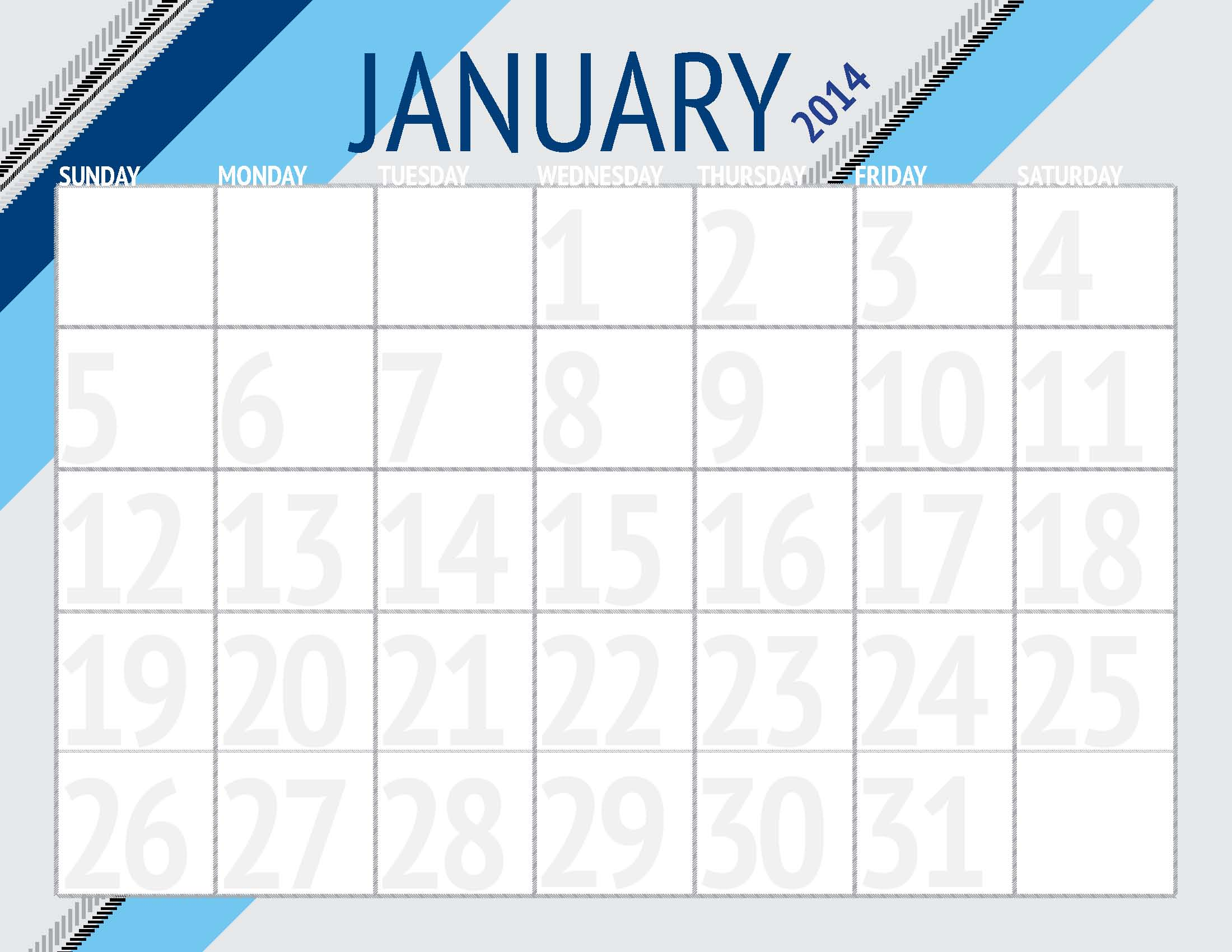 fillable calendar template 2014 - 8 best images of monthly planner printable 2014 calendar