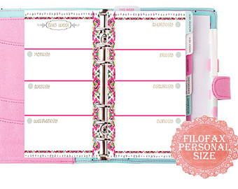 8 Images of 2015 Filofax Personal Printable Pages