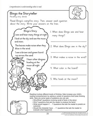 Printables Free Reading Comprehension Worksheets For 2nd Grade free printable worksheets for 2nd grade reading comprehension comprehension