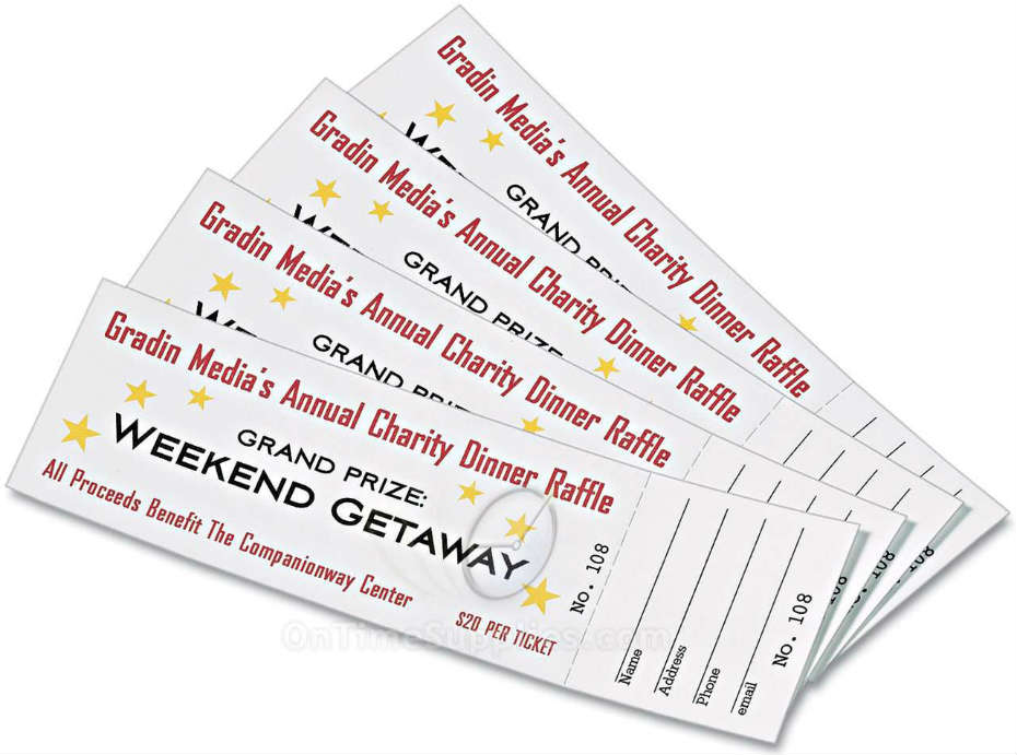 7 best images of avery raffle tickets printable avery for Avery event ticket template