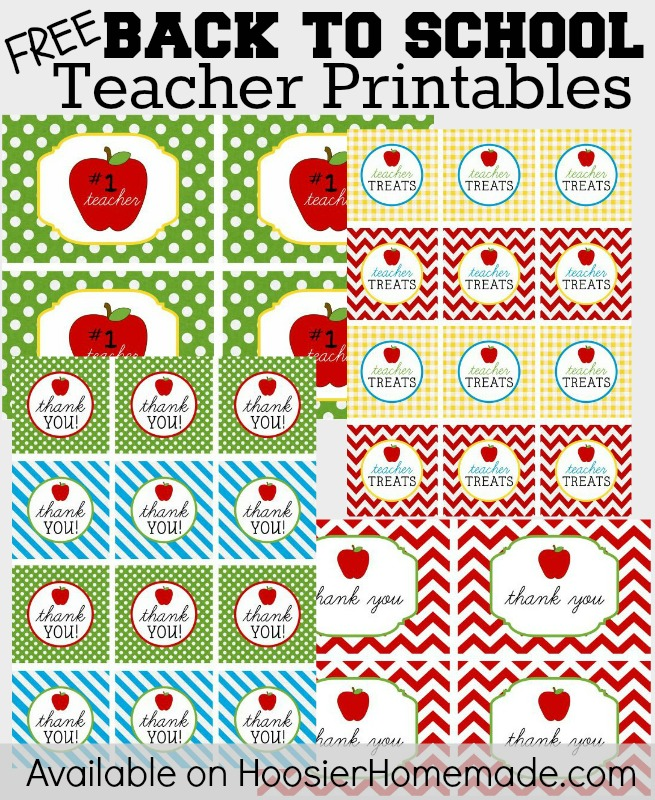 8 Images of Free Printable Back To School Teacher