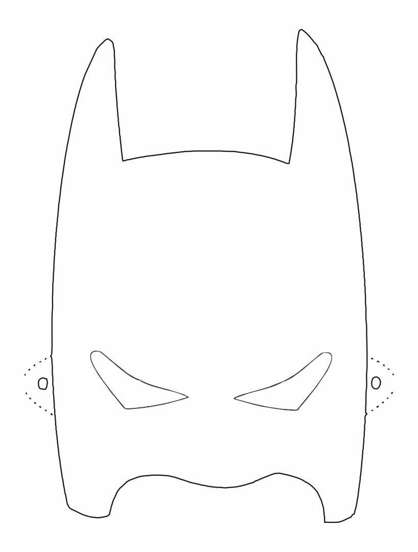 9 best images of printable superhero mask cutouts super for Batman face mask template