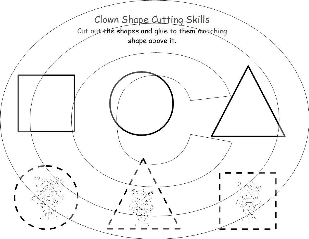 shapes for preschoolers to cut out 7 best images of cutting shapes printables printable dr 970