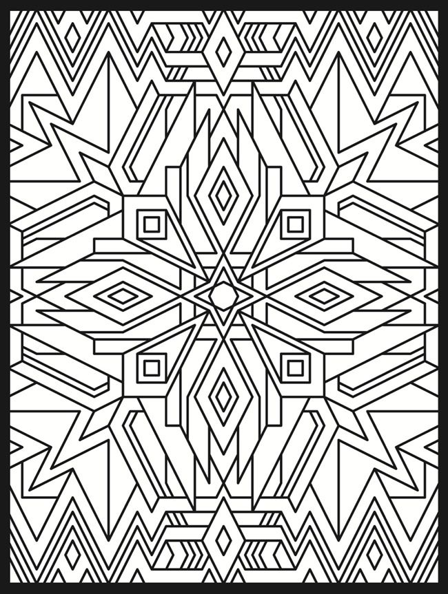 5 Images of Art Deco Coloring Pages Printable