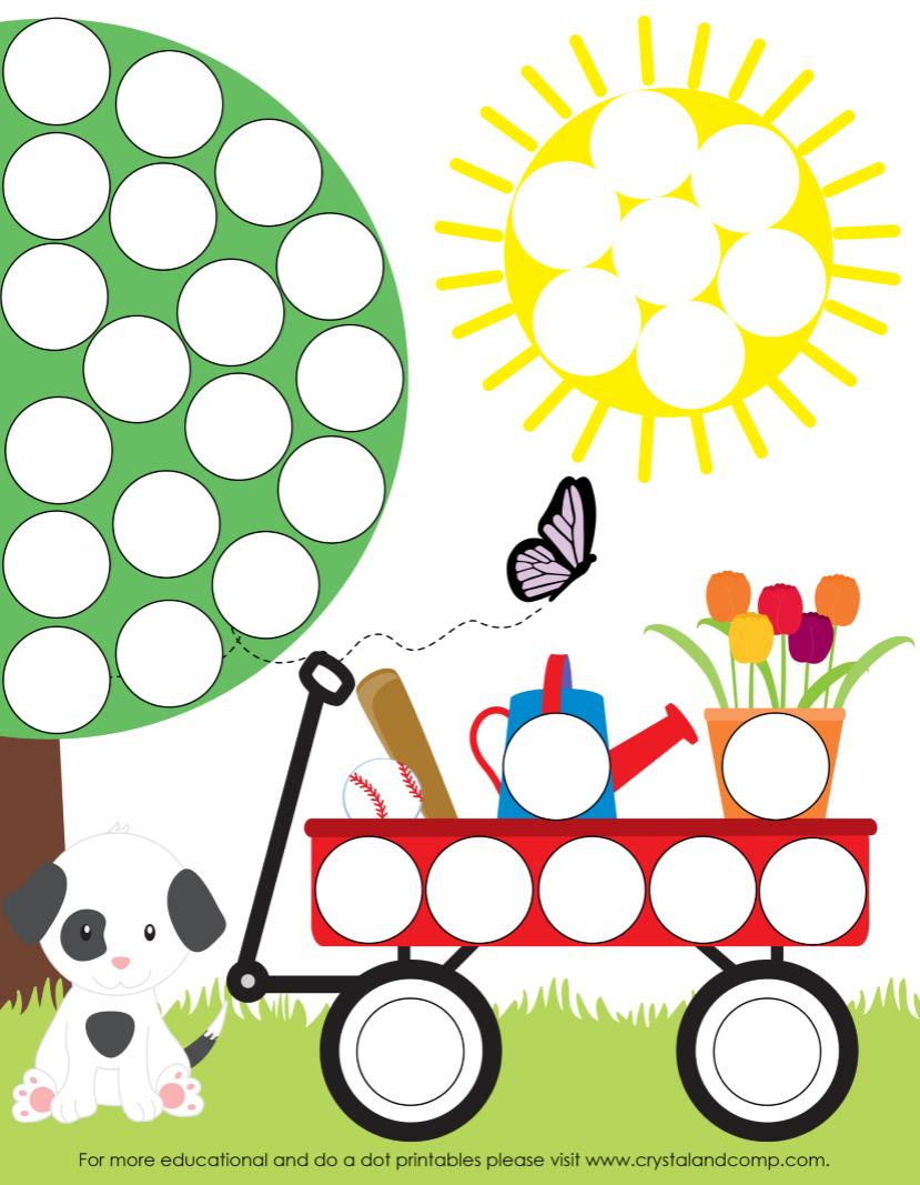 6 Images of Do A Dot Printables Preschool