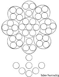 bingo dot coloring pages - photo#18