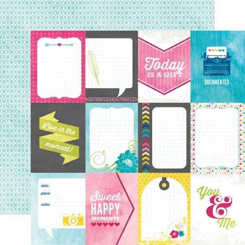 5 Images of Printable Journaling Cards Echo Park