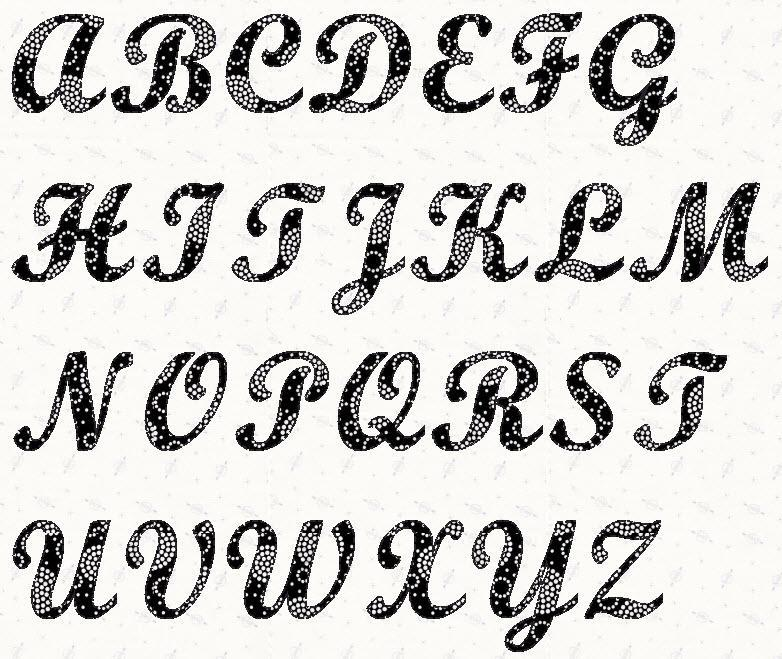 9 Images of Script Letter Stencils Free Printable