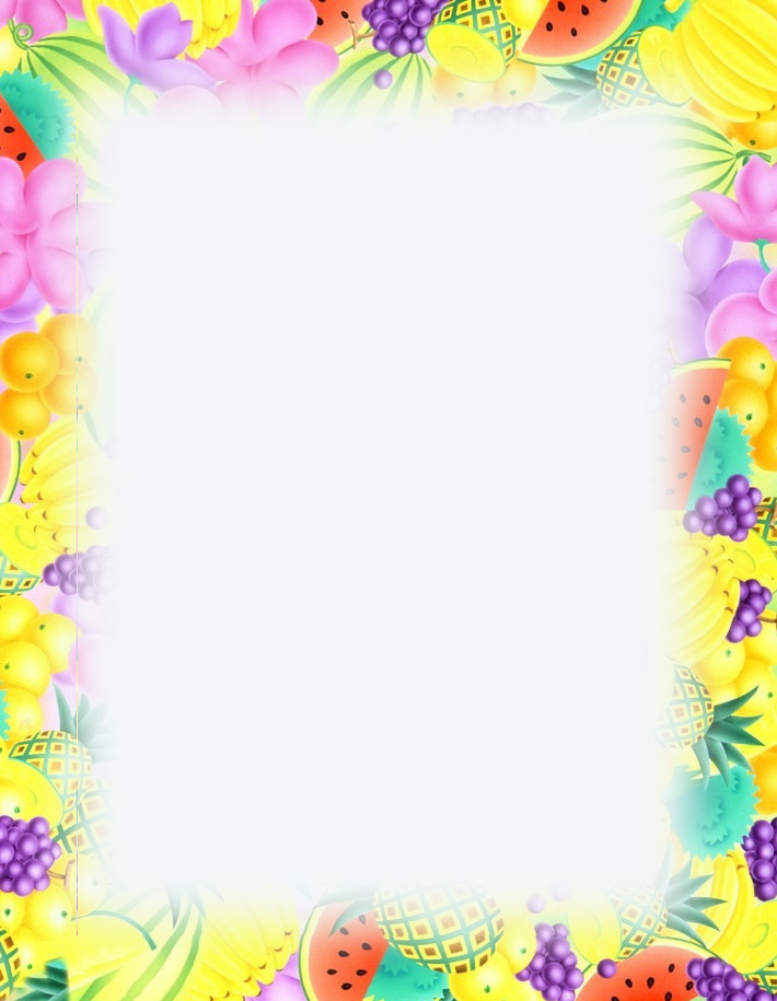 8 Images of Printable Summer Border Clip Art